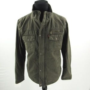 New Levi's Cotton Trucker Insulated Jacket Coat